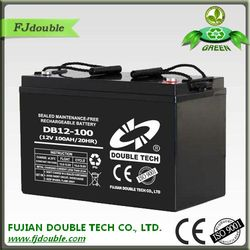 factory directly supply VRLA ups battery, deep cycle 12v 100ah sealed lead acid battery