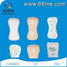 Hospital supplier mesh fabric post- partum pad maternity made in china