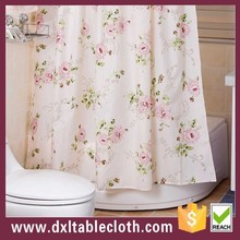 Hotel Bathroom shower curtain floret decorative