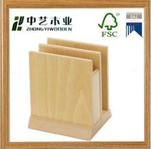 High quality decorative factory price custom hanging wooden restaurants menu holder