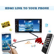 Universal fit 6.2inch 1080P TV Wifi DVD Car Radio GPS