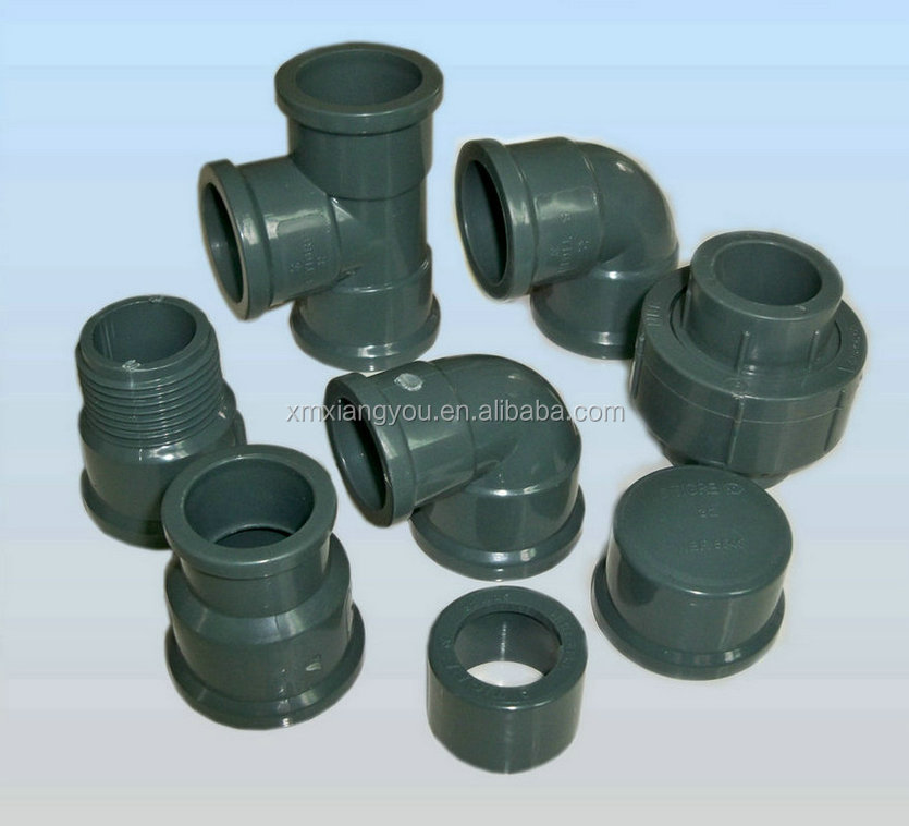 Pvc drainage pipe fittings reducer coupling tee buy