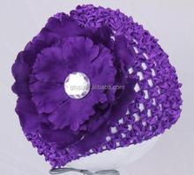 baby crochet hat flower knitted caps