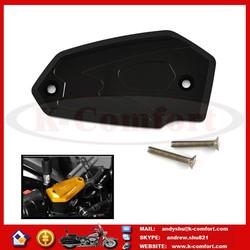 K014 CNC Motorcycle Brake Fluid Reservoir Clutch Tank Cylinder Master Oil Cap Cover For Kawasaki Z800 2013 2014 2015 ER6N/F