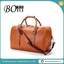 genuine leather travel bag
