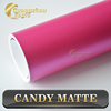 Matte Candy Color Funny Car Sticker Film For Vehicle Decoration