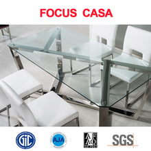 dining room furniture glass dining table and chair