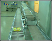 New design belt band conveyor / chain driven conveyor belt for light things