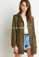 2015 nueva moda formales para mujer de moda ropa mujer chaqueta de mujeres guangzhou fábrica de prendas de vestir