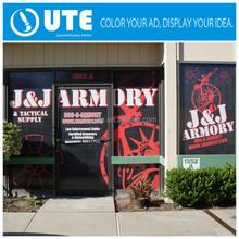 digital print windowsticker outdoor vinyl sticker advertising vinyl sticker glass door film