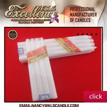 China supplier white candle to angoal Velas / Bougies / Made in China Mob:86 15097479316