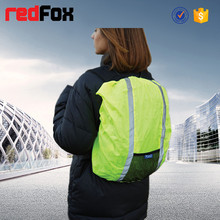 high visibility reflective waterproof backpack rain cover