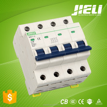 2015 new model 1p 2p 3p 4p 1A 2A 3A 4A 5A 10A 16A 20A 25A 32A 40A 50A 63A miniature electric circuit breaker