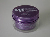 white color 100g stong holding hair clay wax for men