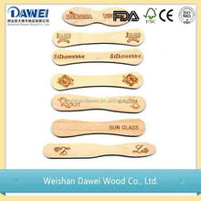 china wholesale wooden ice cream spoon crafts