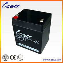 12V 5.0Ah Home security system sealed lead acid battery