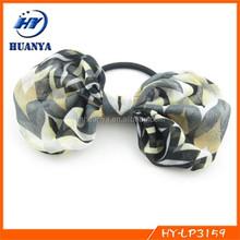 chiffon bow fashion hair rope hair accessories ponytail holder fascinator