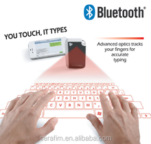 2015 New Mini Wireless Bluetooth Laser Projection Virtual Keyboard With Mouse Function For Smartphones