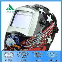 anti spatter hard hat england welding helmet /blue eagle face shield