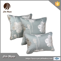 50*50cm new style satin fabric jacquard sofa cushion with natural style