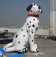 best quality inflatable dalmatian dog balloon for promotion N2052
