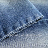 12OZ jeans denim fabric for men woven with poly cotton mixed