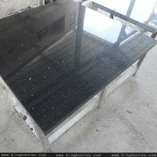 kingkonree black hard quartz stone countertop / stone quartz counter