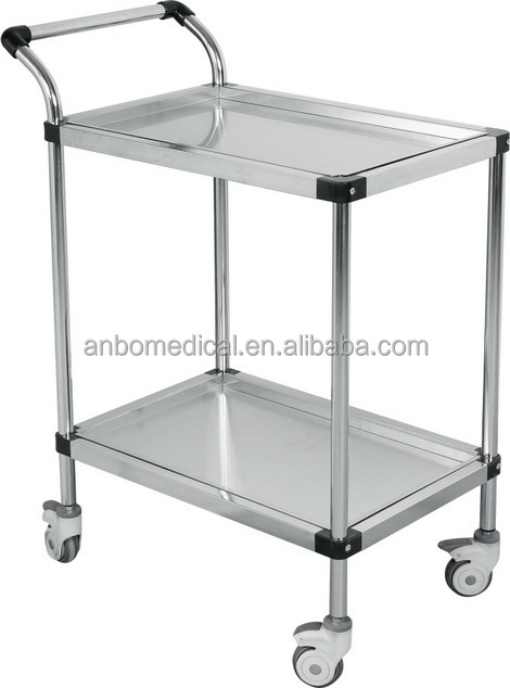 Surgical Instrument Trolleys Steel Surgical Instrument