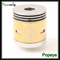 FocusEcig best selling e-cigarette with reduce chamber heatsink 7mm deep juice well Popeye rebuildable dripping atomizer