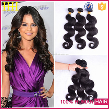 2015 New Style Natural Looking natural color body wave Indian Hair Kilo