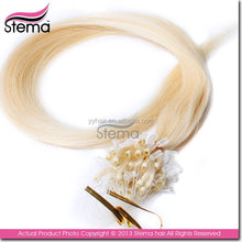 thick hot sale customized micro ring loop hair extensions 1g gram