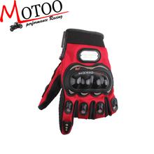Motoo - Pro-biker Motorcycle Gloves Protect Hands Full Finger Breathe Freely Flexible Gloves Motorcycle For Four Seasons