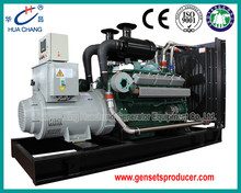 Three-phase four wire 450KVA/360KW Open Type Diesel Generator Set(ISO9001)