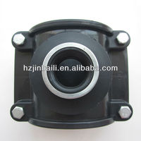 Pp Compression irrigation hdpe pipe fittings saddle clamps