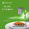 high quality catering electric food warmer lamp/hotel cabinet food warmer