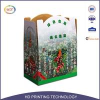 Corrugated Board Fresh Apple Fruit Packaging Carton