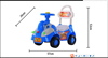 racing car baby walker kids swing car