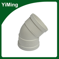 YiMing Waterproof Pipe Insulation 45 Degree Bend