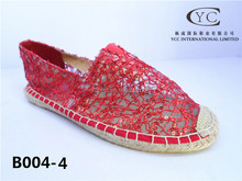 Professional shoe women cheap shoes made in China 2015 new arrival canvas shoes with rubber outsole beads embroidered