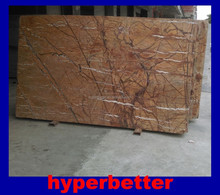 Forest brown marble slabs