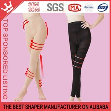 Women's slimming pants underwear shaping tight Fitness Graduated Slimming Compression Legging / Tight Pantyhose K01B