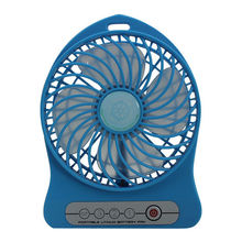 2015 Patent Owned summer cooling battery rechargable fan usb desk stand mini electric hand fan