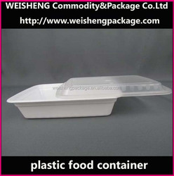 Good Quality Plastic Sushi Food Container/containers/plastic Container with sealed lid