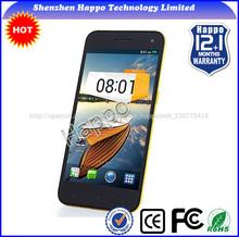 Pop de descuento 5. 0 mtk6582 quad core 4.2 android gps 3g nfc teléfono celularinteligente de teléfono