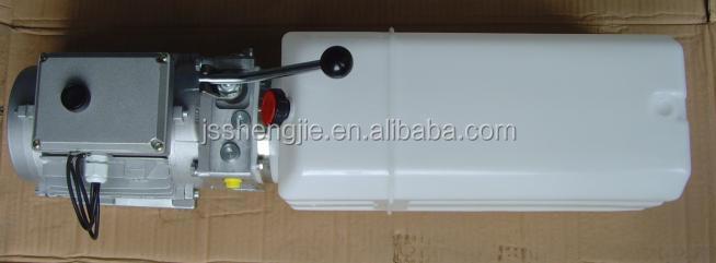 24 В dc, Одностороннего действия, Китай завод, Гидравлический агрегат для forkliftSJ-YBZ5-F1.2