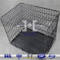 Hot Sale Black Folding Welded Metal Wire Dog cage