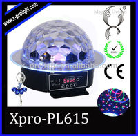 Corlorful Red Green Blue White Pink Yellow Crystal Ball Laser Christmas Lights