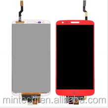 Replacement LCD and touch screen assembly For LG G2 d802 d805 LS980 VS980 F320 red