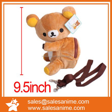 Rilakkuma Plush Messager Shoulder Bag Satchel animal doll