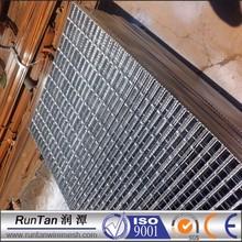 wholesale galvanized steel floor grating weight, galvanized serrated bar grating
